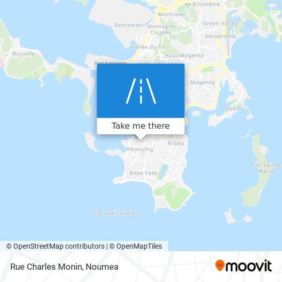 Rue Charles Monin map