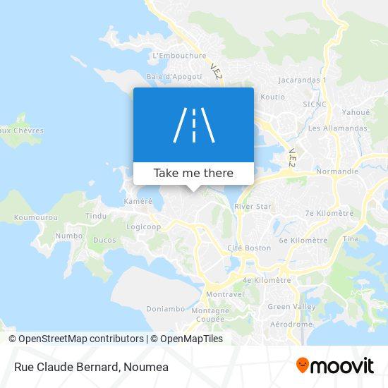 Rue Claude Bernard map