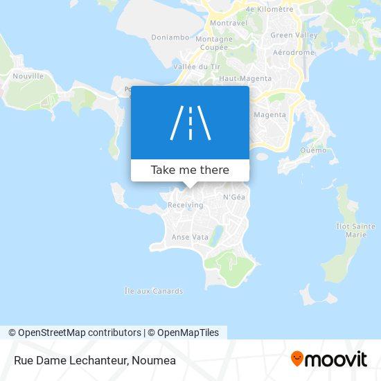 Rue Dame Lechanteur map