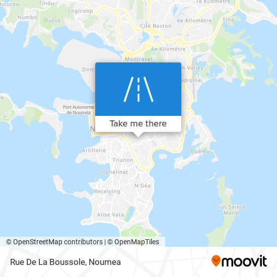 Rue De La Boussole map