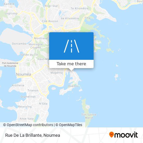 Rue De La Brillante map