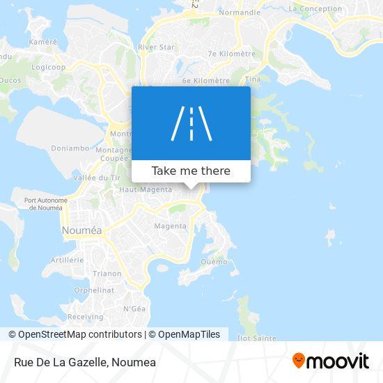 Rue De La Gazelle map