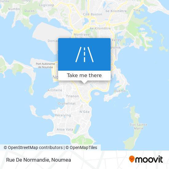 Rue De Normandie map