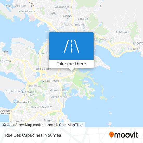 Rue Des Capucines map