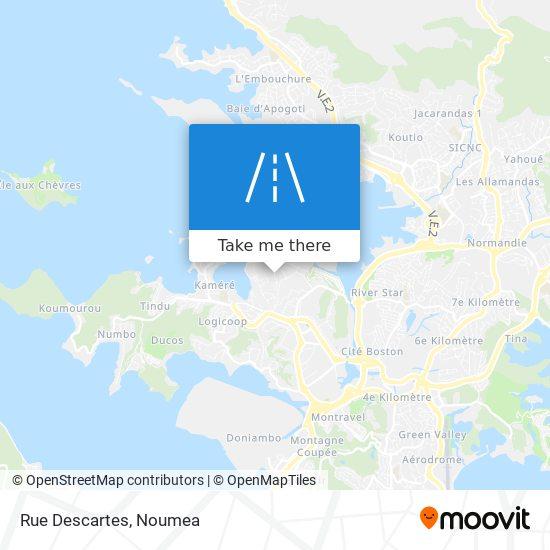 Rue Descartes map
