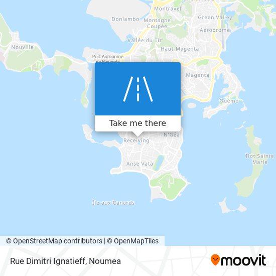 Rue Dimitri Ignatieff map