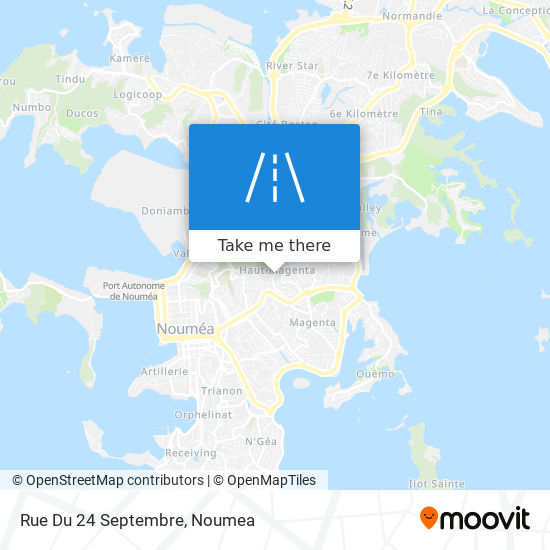 Rue Du 24 Septembre map