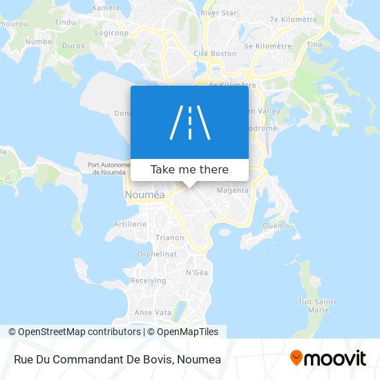 Rue Du Commandant De Bovis map