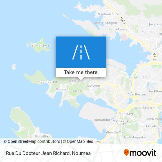 Rue Du Docteur Jean Richard map