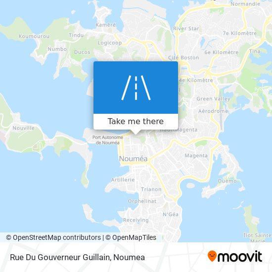 Rue Du Gouverneur Guillain map