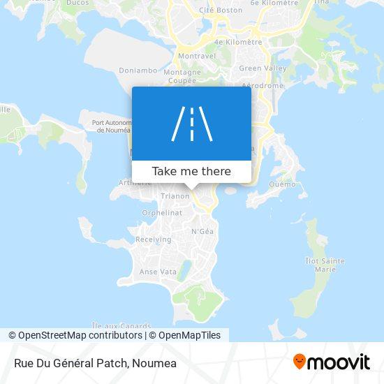 Rue Du Général Patch map