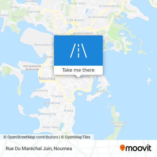 Rue Du Maréchal Juin map