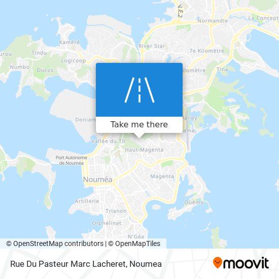 Rue Du Pasteur Marc Lacheret map