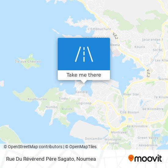 Rue Du Révérend Père Sagato map