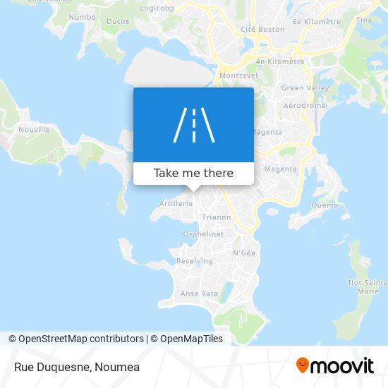 Rue Duquesne map