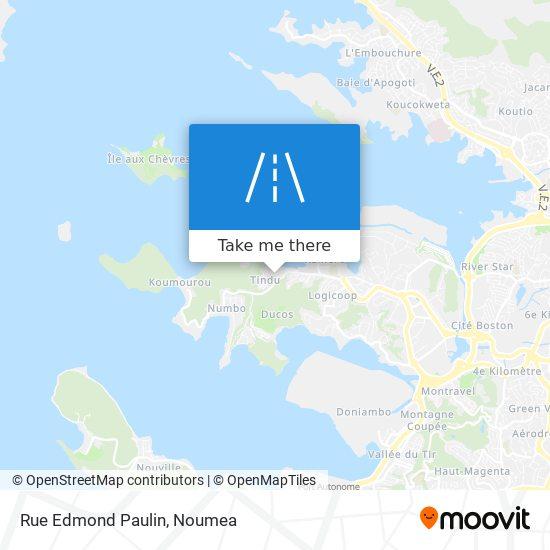 Rue Edmond Paulin map