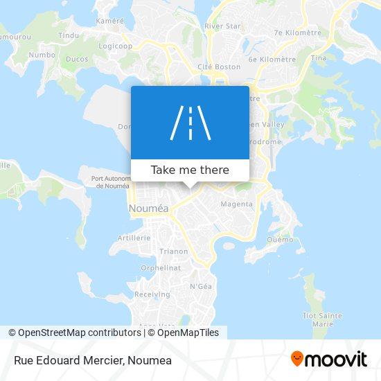 Rue Edouard Mercier map