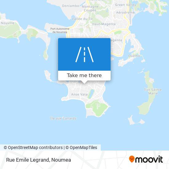 Rue Emile Legrand map