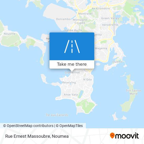 Rue Ernest Massoubre map