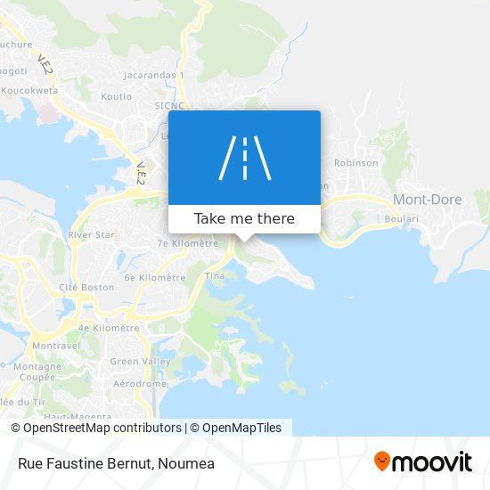 Rue Faustine Bernut map