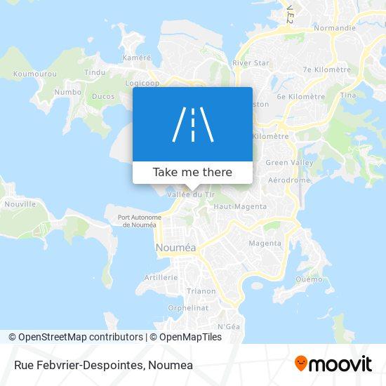 Rue Febvrier-Despointes map