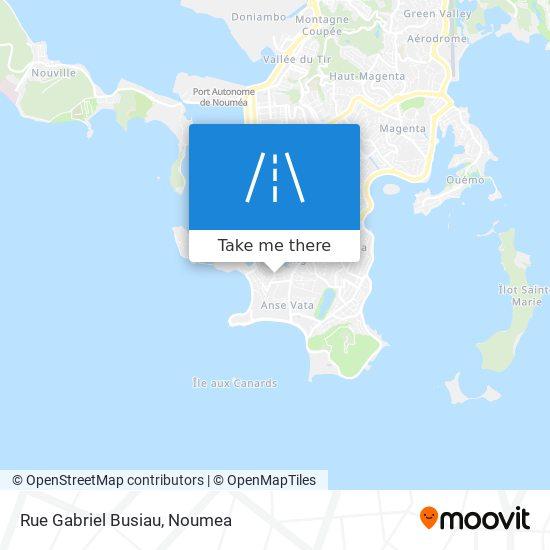 Rue Gabriel Busiau map