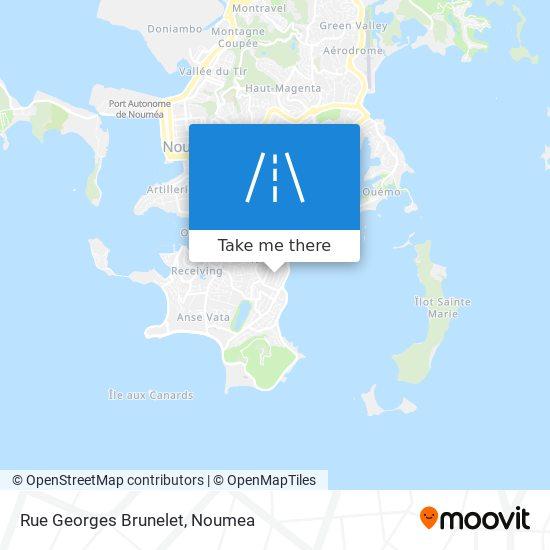 Rue Georges Brunelet map