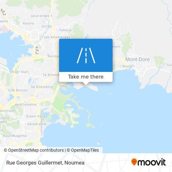 Rue Georges Guillermet map