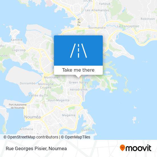 Rue Georges Pisier map