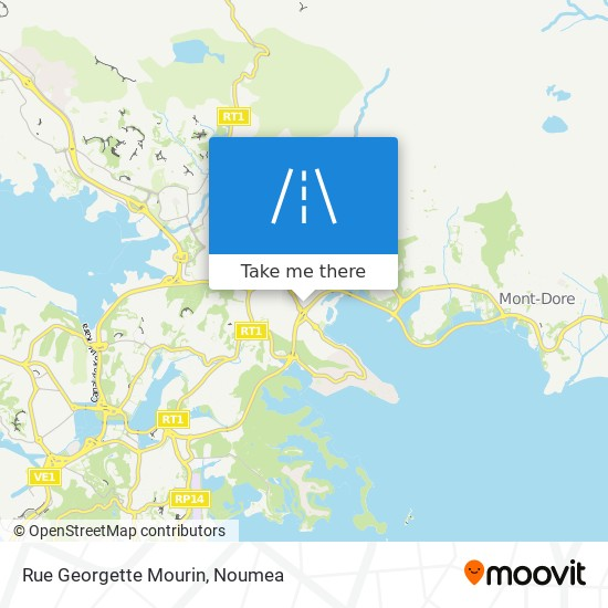 Rue Georgette Mourin map