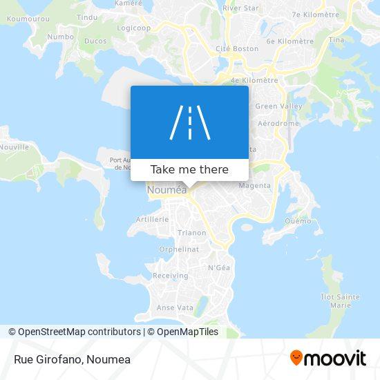 Rue Girofano map