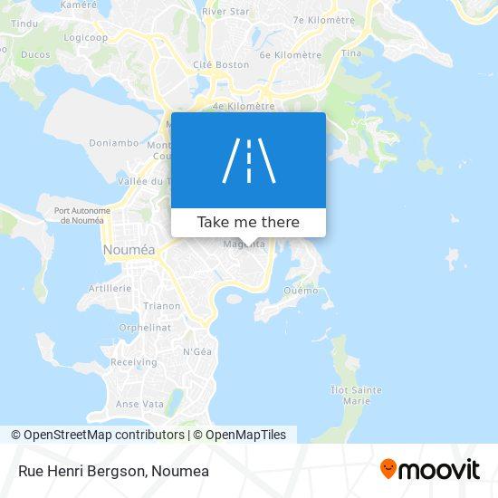 Rue Henri Bergson map