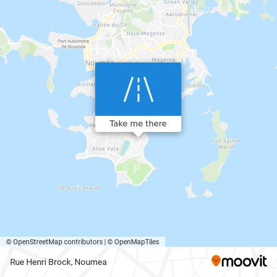 Rue Henri Brock map