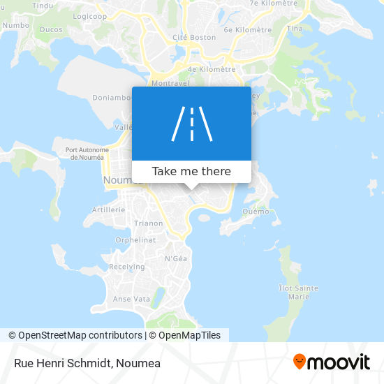 Rue Henri Schmidt map