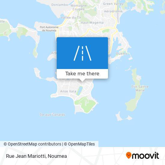 Rue Jean Mariotti map