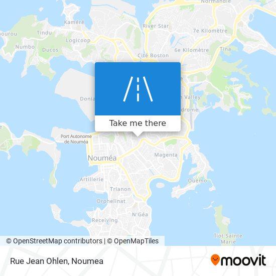 Rue Jean Ohlen map