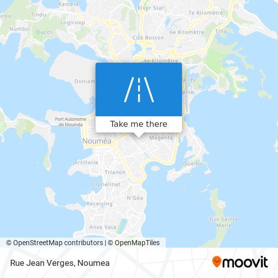 Rue Jean Verges map