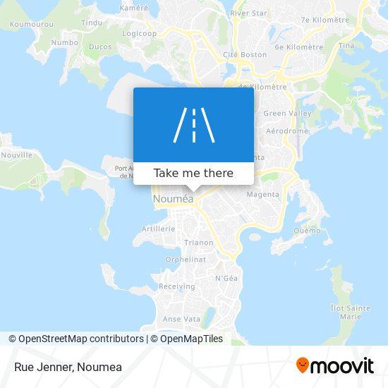 Rue Jenner map