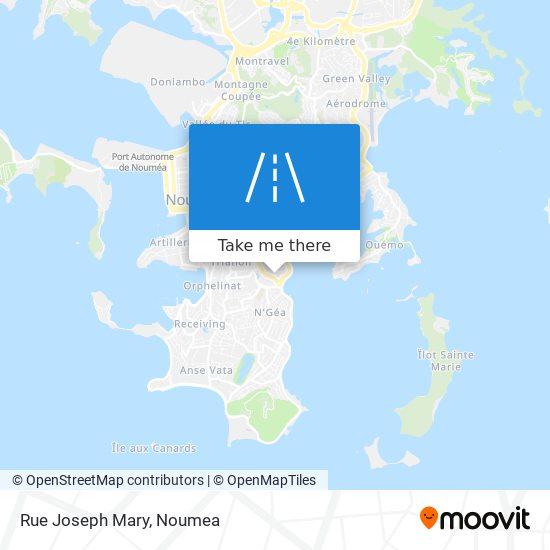 Rue Joseph Mary map