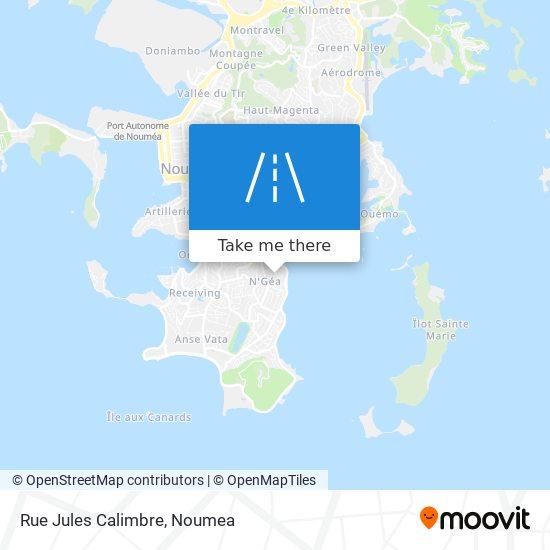 Rue Jules Calimbre map