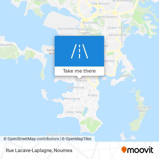 Rue Lacave-Laplagne map