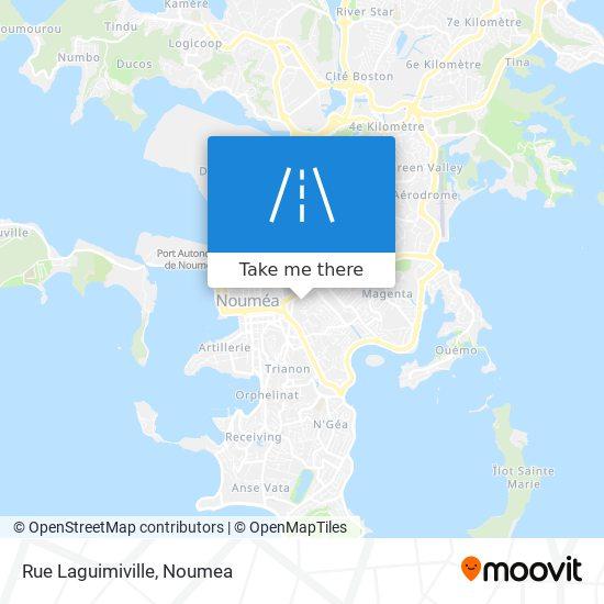 Rue Laguimiville map