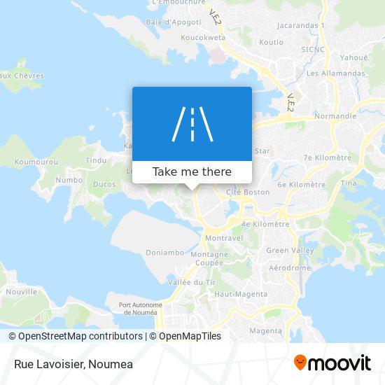 Rue Lavoisier map