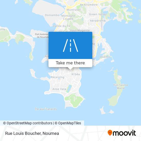 Rue Louis Boucher map
