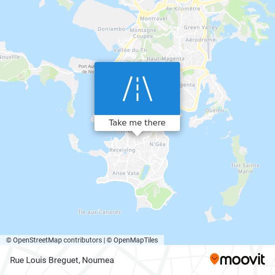 Rue Louis Breguet map