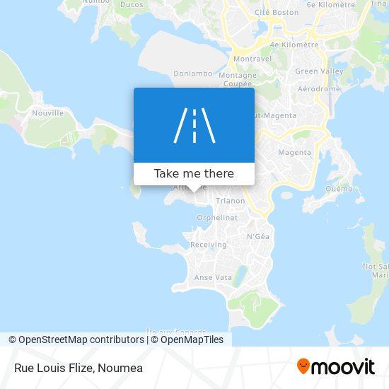 Rue Louis Flize map