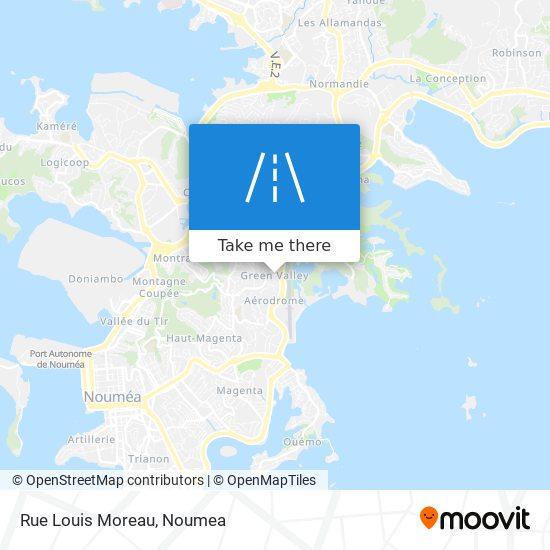 Rue Louis Moreau map