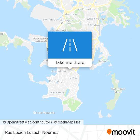 Rue Lucien Lozach map