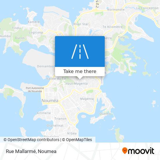 Rue Mallarmé map