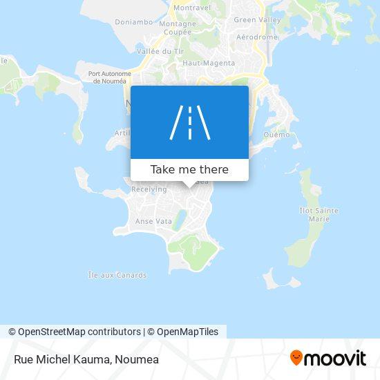 Rue Michel Kauma map